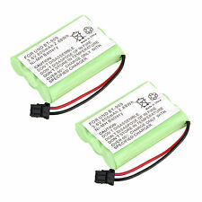 New 2x pcs 3.6V 800mAh NI-MH Phone Battery for Uniden BT909 BT1001 BT1004 -Green
