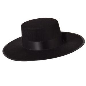 Spanish Spanish Hat Matador Hat Bowknot Bull Fight Hat Sombrero Hat Black