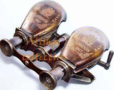 Brass Antique Monocular Binocular Telescope Vintage Nautical Spyglass Scope item
