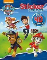 Nickelodeon Paw Patrol Sticker Scenes, Parragon Nickelodeon, Very Good Book