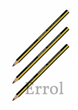 3 x Staedtler Noris JUMBO Triangular HB Chunky Learners Pencils.  Quick Post