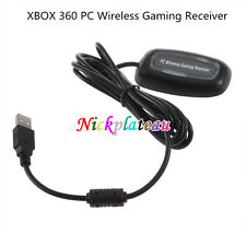 USB Wireless Gaming Receiver Adapter for XBOX 360 PC Controller Windows 7 8 N