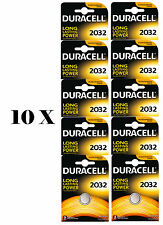 NUOVO 10 x DURACELL CR2032 - litio batterie DURALOCK - 2032 3V DL2032 BR2032 CR