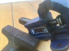 X2 Vintage Mini Metal Vice Clamp Tool Industrial Model Making Hobby Prop