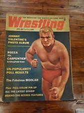Wrestling Revue Magazine Johnny Valentine Rocca August 1962