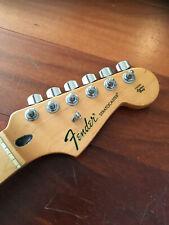2009 Fender Stratocaster Standard Strat Maple Neck Tuners Plate