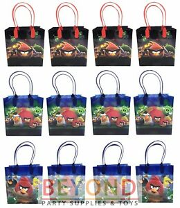 Angry Birds Goody Bags, Angry Birds Party Favor Goodie Bags Gift Bags Birthday