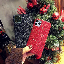 Glitter Sparkle Christmas Hard Case Cover For iPhone 11 Pro Max XS Max XR X 8 7