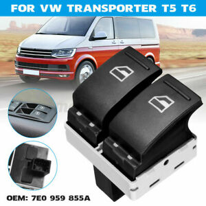 Electric Window Switch Master Driver 7E0959855A for TRANSPORTER T5 T6 CARAVELLE