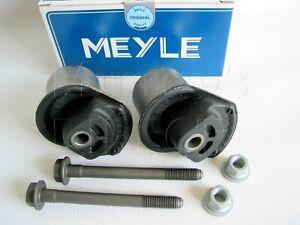 MEYLE Rear Axle Bushes & Bolts VW Mk3 Golf 2.0 GTI 8V 16V VR6 TDI 1992 to 1998