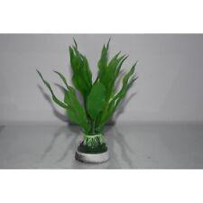 Acquario plastica verde Boccola PIANTA approssimativamente 20cm di altezza