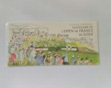 timbre - souvenir philatélique centenaire open de France de golf