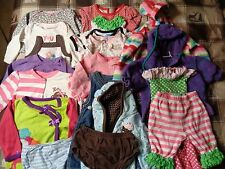 Lot of 19 pieces, girls 0-6 months clothing outfits