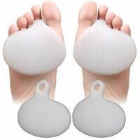 Pair of Gel Metatarsal Sore Ball Foot Pain Cushions Pads Insole Forefoot Support