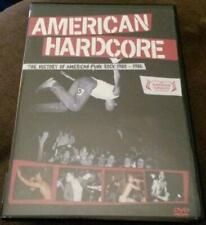 American Hardcore the History of American Punk Rock 1980-1986 [DVD] NEW!