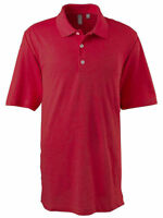 Ashworth Polo Golf Men's EZ-Tech Short-Sleeve Textured Solid Polo Shirt. 2203C