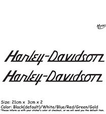 2 Pcs Harley Davidson Stickers Refelctive Motorcycle Decals Sticker Best Gifts t