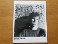 DAVID LYNCH 8x10 BLACK & WHITE Press Publicity Photo 1990's