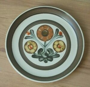 Vintage 1960s Denby Stoneware Tea Plate - Mayflower Pattern VGC