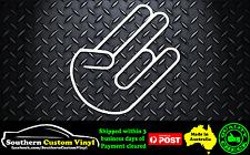 THE SHOCKER JDM EURO DRIFT ILLEST DOPE Car Window Sticker Decal