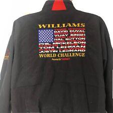 Williams World Challange Golf Jacket Tiger Woods USA Vinage Xl Embroidered