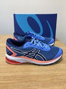 Asics GT 1000 9 GS Junior Running Shoes - Blue Coast/Peacoat Size UK  5