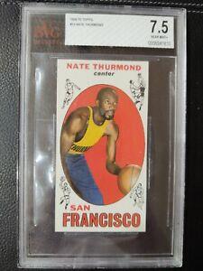 1969-70 Topps Nate Thurmond #10  BVG 7.5 Rookie HOF