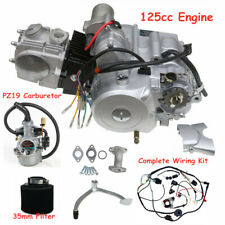 125cc Semi auto Engine 3 Speed Reverse Forward Electric Start Wire Loom ATV Quad