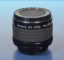Kenko 2x cae. Teleplus mc7 tele Converter teleconvertidores para Canon FD - (41181)