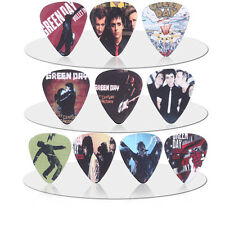 10pcs 1.0mm  Two Sides Musical Accessories green day Rock Band guitar picks