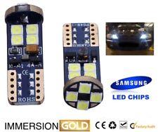 BMW E46 E90 E91 E87 E53 XENON WHITE LED SIDELIGHT Bulbs ERROR FREE 12SMD