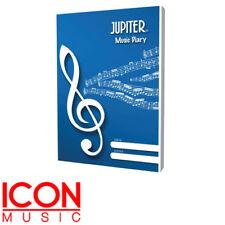 Jupiter Music 42 Lesson Music Diary