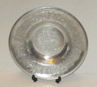 "SERVING BOWL ALUMINUM WILSON SPECIALTIES HAND HAMMERED 1.5""t x11.75""w"
