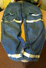 Marithe Francois Girbaud Cargo Gray Shuttle Tape Blue Jeans Men's 42 M x33