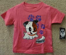 "Metal Mulisha Kids's Infant T-shirt ""Bandit""-- Color Pink"