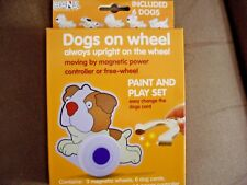 DOGS ON WHEEL PAINT AND PLAY SET