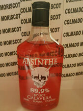 ABSENTA CALAVERA ROUGE 89,9% 350ml 35cl 0,35L ABSINTHE ASSENZIO ABSENT ABSINTH