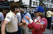 Manfred Winkelhock ATS F1 Portrait Monaco Grand Prix 1982 Photograph