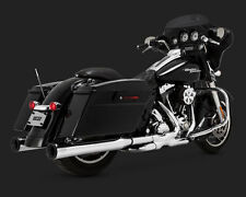 VANCE AND HINES Eliminator Slip On Exhaust 1995-2016 HARLEY TOURING V & H 16706