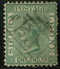 Sierra Leone  1873   Scott #10a   USED