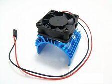 540 550 3650 Size Motor Alloy Heatsink w/ 5V Cooling Fan for 1/10 RC Car Truckr
