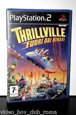 THRILLVILLE FUORI DAI BINARI gioco nuovo versione italiana PLAYSTATION 2 PS2 NEW