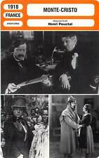 FICHE CINEMA : MONTE-CRISTO - Mathot,Colas,Mayer,Pouctal 1918