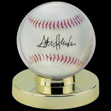 Ultra Pro Globe Baseball Holder Gold Pedestal Ball Display Case Perfect Fit!