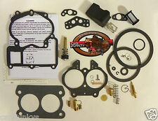 Mercarb Marine 2BBL Carburetor Repair Kit Mer Carb 3302-804845 EtOH Float 19035