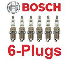 6-OEM Bosch Super YTTRIUM  Spark Plug F8DC4 Mercedes W124 R129 W140 W210
