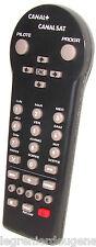 Télécommande CANAL+ CANALSATELLITE => Récepteur Satellite Canal+ Canlasatellite