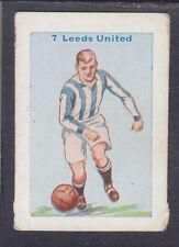 Thomson - Football Team Cards 1934 - # 7 Leeds