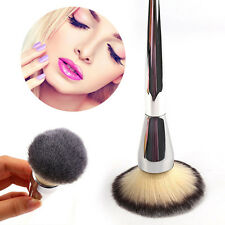Hot New Face Makeup Blush Powder Foundation Silver Handle Cosmetics Large jjll