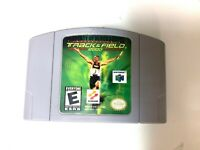 International Track & Field 2000 - Nintendo 64 N64 Game Tested + Authentic!